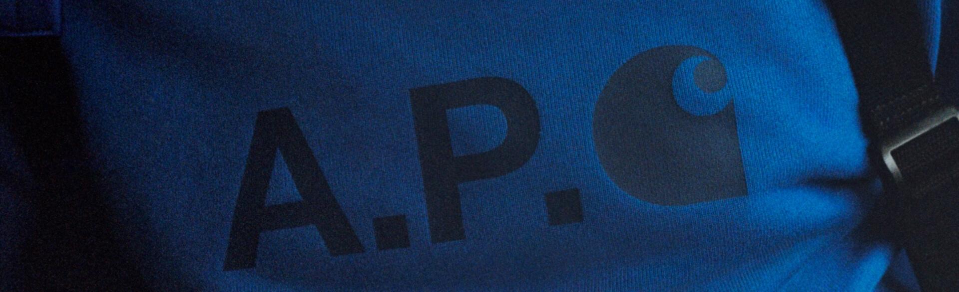 A.P.C. X CARHARTT WIP