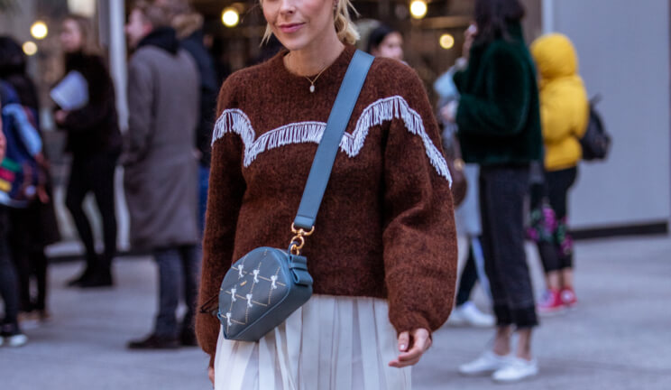 Spotted at the Shows: <br> The Trophy Knit</br>