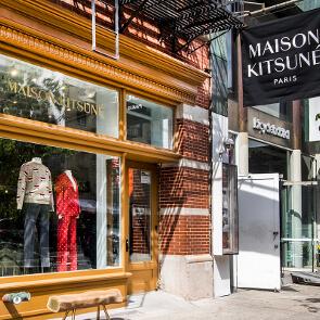 Inside Maison Kitsuné's NYC Store