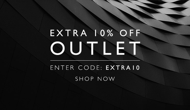 Extra 10% off OUTLET