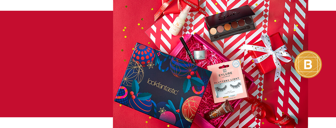 The lookfantastic December Christmas Edition Beauty Box is here! Unwrap 6 beauty luxuries this month. The lookfantastic Beauty Box is the gift that keeps on giving…