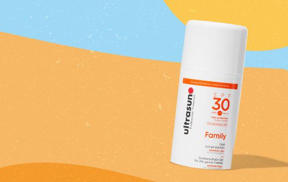 Ultrasun SPF 30 Family Sun Lot
