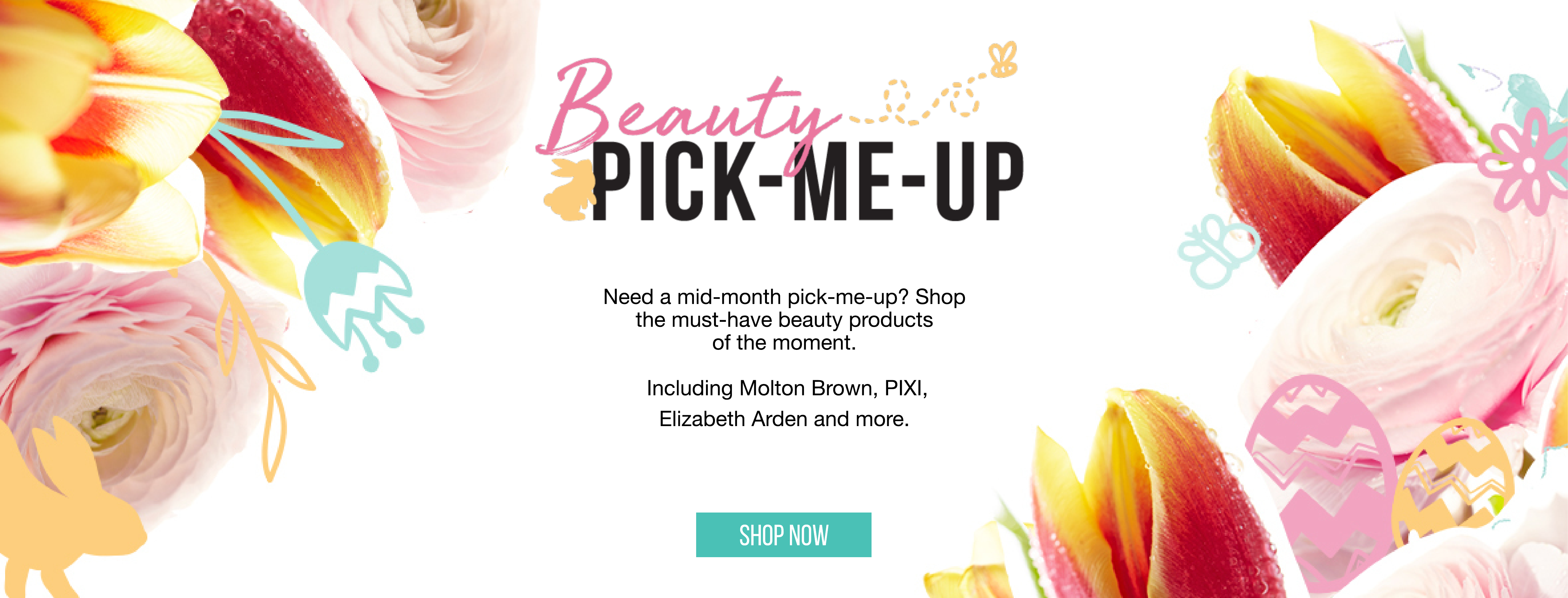 Beauty Pick-Me-Up: | Need a mid-month pick-me-up? Shop the must-have beauty products of the moment.