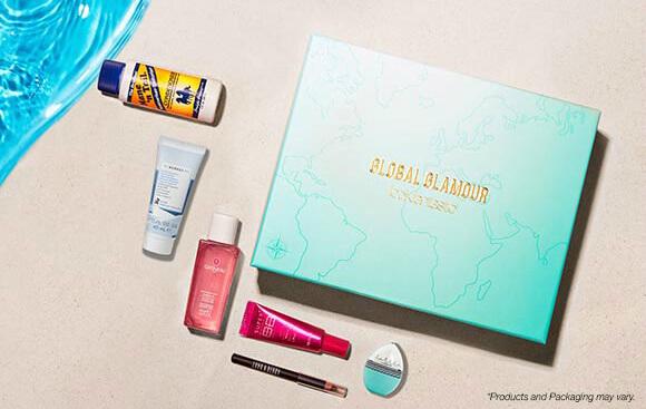 lookfantastic august Beauty Box Global Glamour