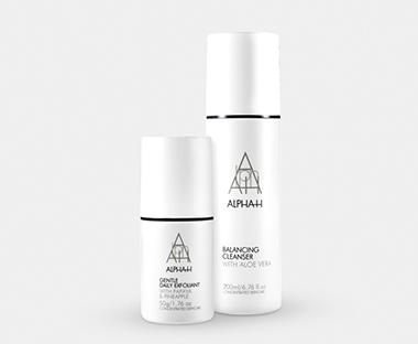 Alpha-H særlige hudplejebehandlinger