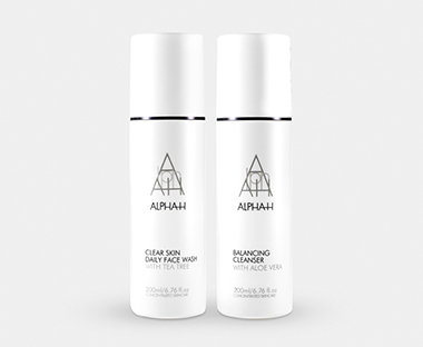 Alpha-H cleanser og exfoliant