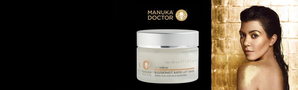 Kortney Kardashian og Manuka Doctor
