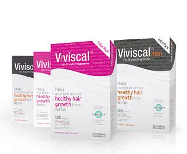 Viviscal kosttilskud for håret