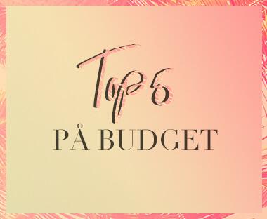 Top 5 på budget tekst