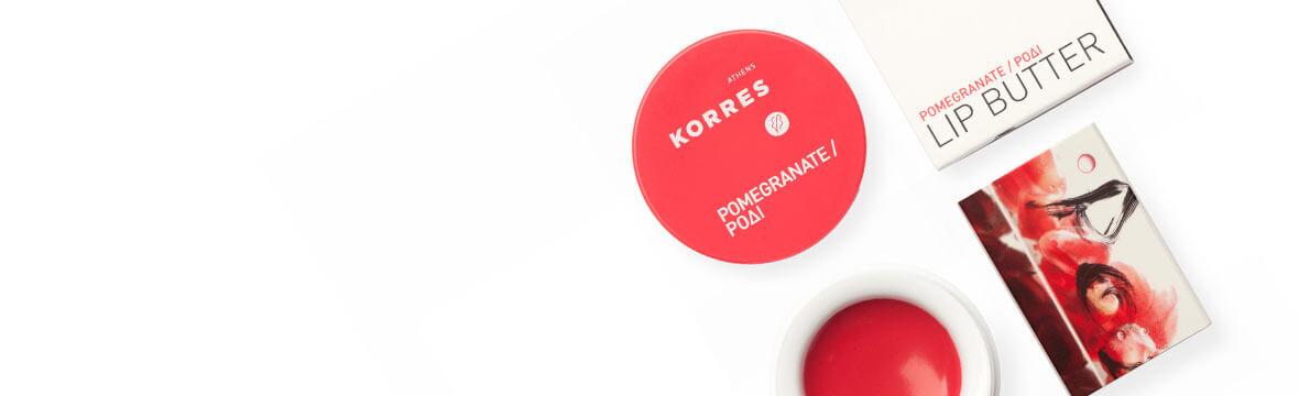 Korres Pomegranat lip butter