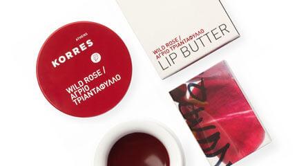 Korres Wild Rose lipbutter