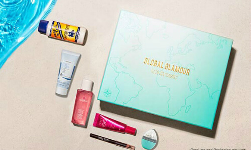 august Beauty Box #Global Glamour