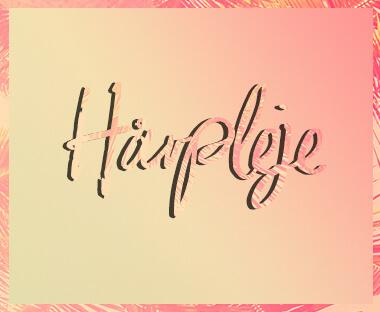 Tekst hårpleje