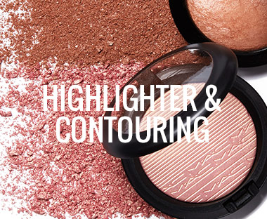 MAC teint highlighter og contouring