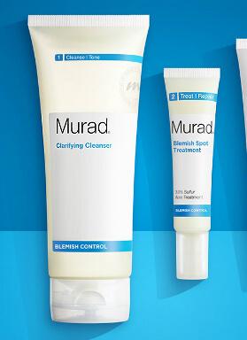 Murad blemish control produkter