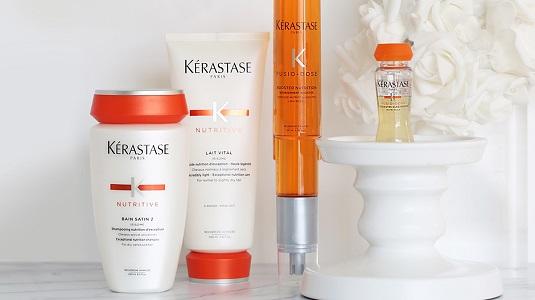 Wake-up Winter Worn Hair with Kérastase