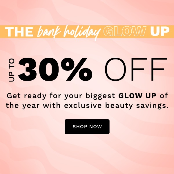 bank holiday - save up to 30%