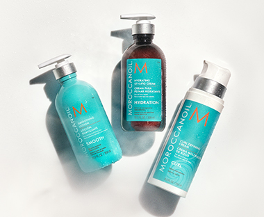 Moroccanoil Hairbrushes and Styling Creams