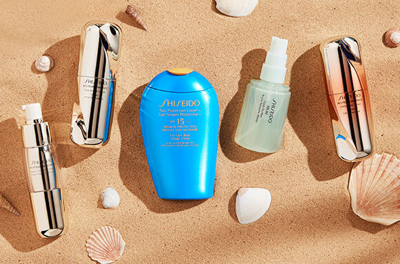 A Skincare Routine with Shiseido
