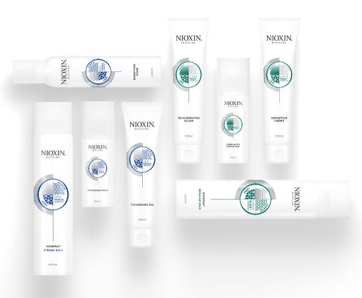 Nioxin Styling Range