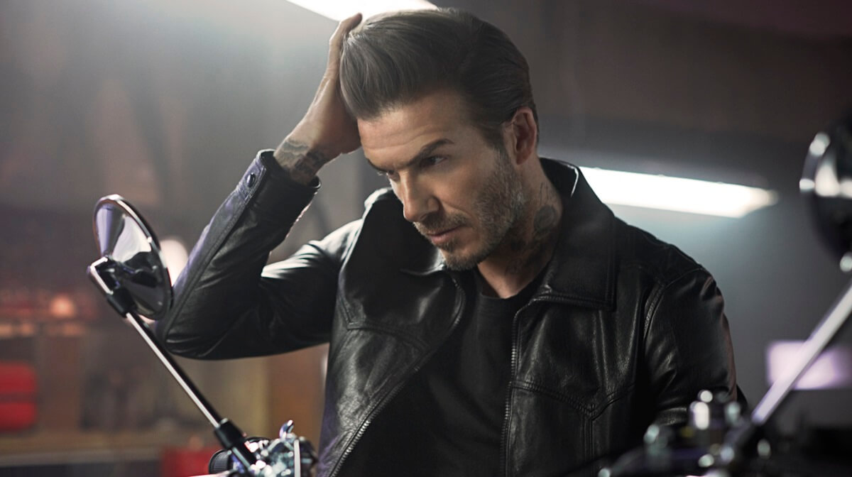How to recreate David Beckham's hairstyle: two looks with House 99