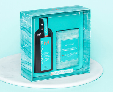 Give your hair the gift of Moroccanoil, plus select your own gift when you spend £40 on the brand.