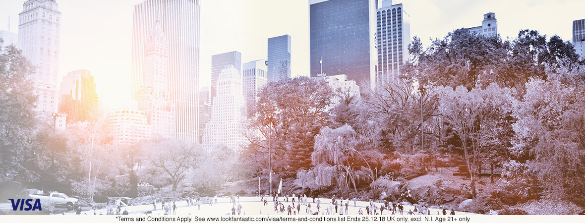 Win a Trip to New York | lookfantastic | Visa Checkout