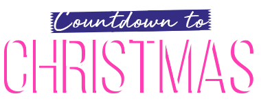 Countdown to Christmas - save 20% on your order COUNTDOWN