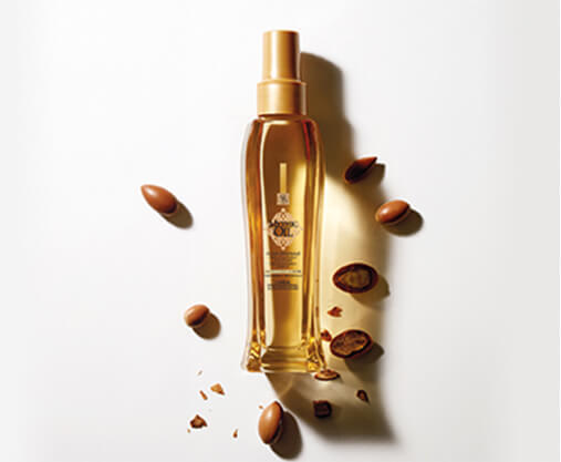 Professional range infused with Argan oil for nourishment and intense shine.
