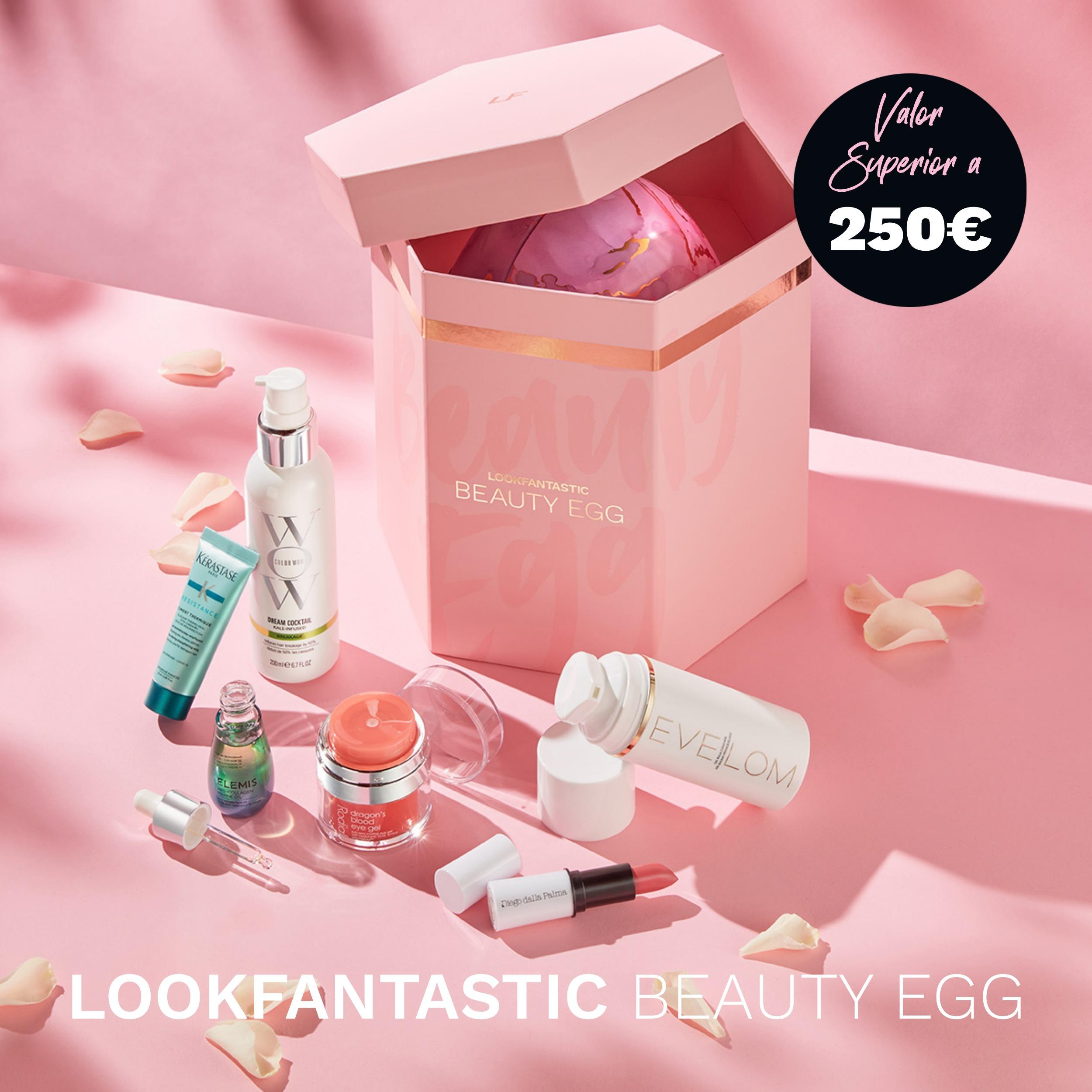 ¡El Beauty Egg de Lookfantastic está aquí! Tuyo por sólo 75€