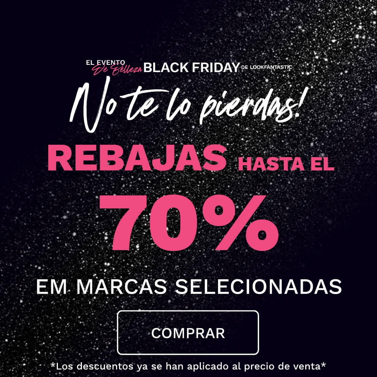 BLACK FRIDAY LOOKFANTASTIC!