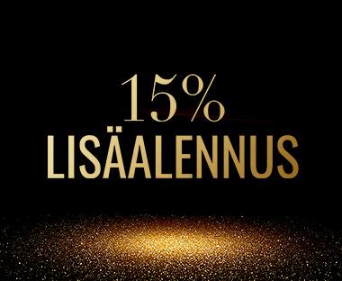 15% Lisäalennus