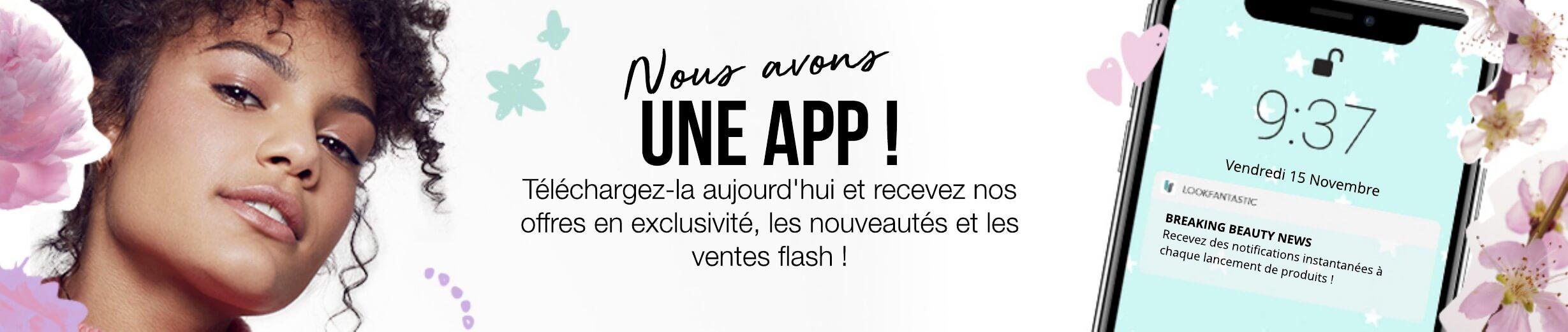 Nous avons une app !