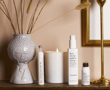 Cruelty-free skin and bodycare solution, best-seller include Deep sleep pillow spray.
