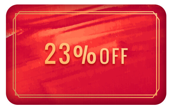 23% Off
