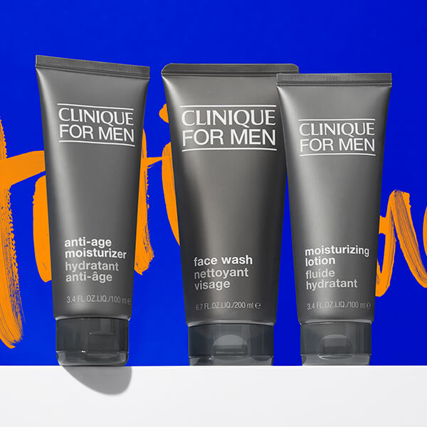timeless grooming with clinique for men