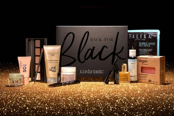 Back for Black lookfantastic Black Friday Beauty Box