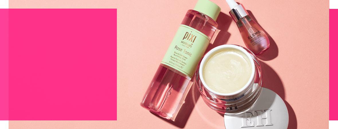 prodotti vari per la cura del viso: Estee Lauder, Omorovicza e hope in a jar