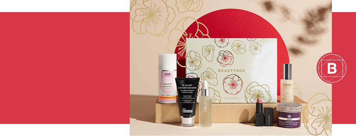 Japan limited edition beauty box