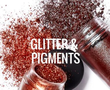 MAC Cosmetics glitter & farver