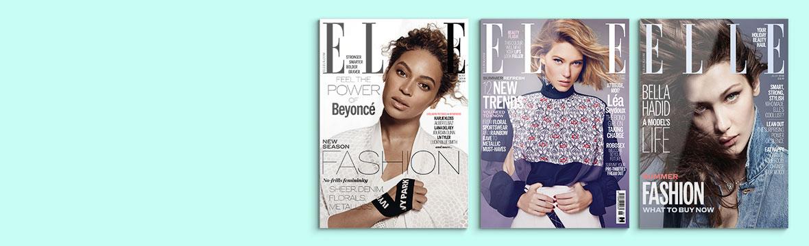 Beauty Box og ELLE magasin