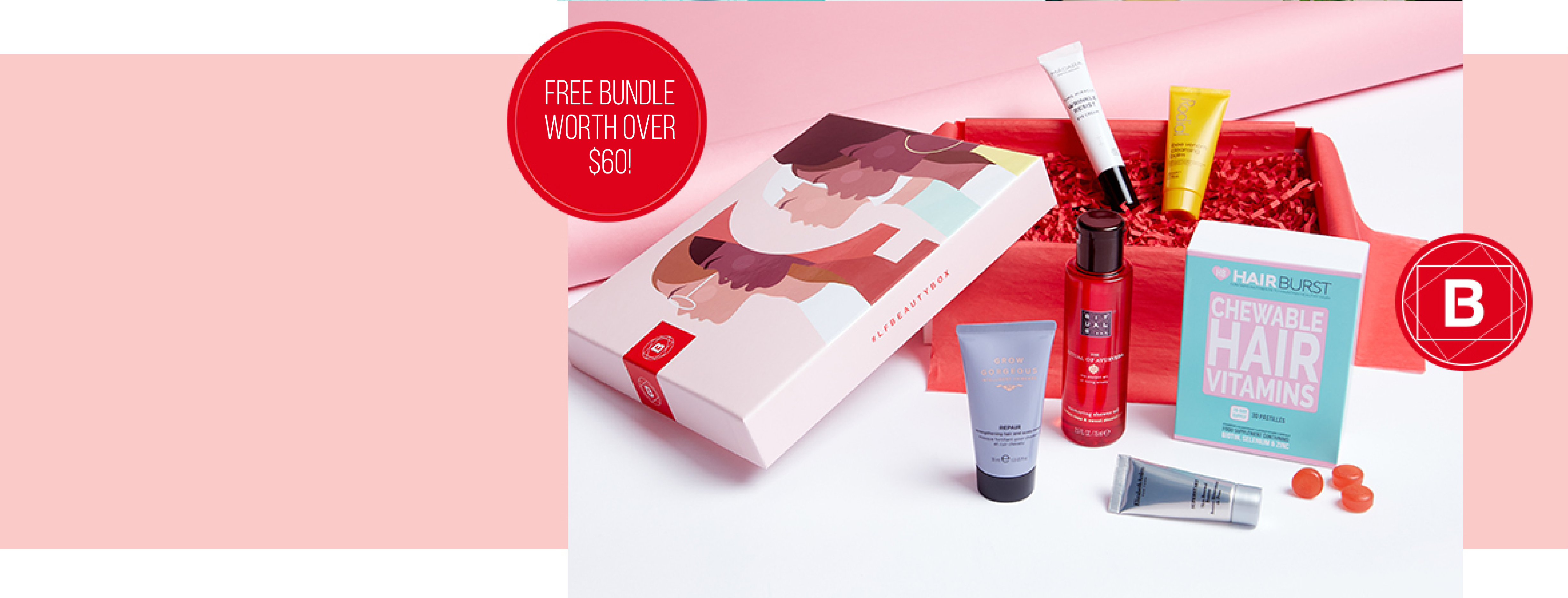 <b>Here's to strong women...</b><br><br>This March, <b>feel strong, confident and beautiful</b> with the help of our Unconstricted Edition Beauty Box.<br><br>With a worth of over $95, subscribe today and get yours from just $19. Plus, receive a Mystery Gift worth over $60 when you subscribe for 6 or 12 months.