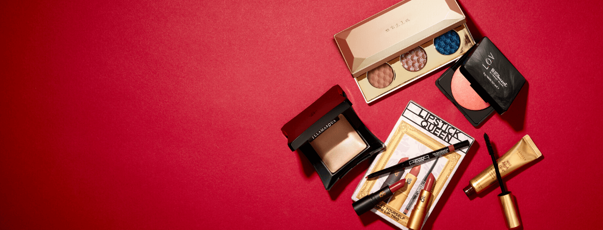 Find the perfect finishing touches for your perfect makeup look and get ready to own the night this party season.