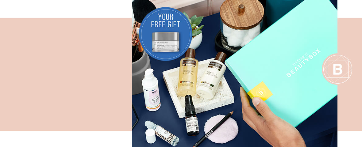 The lookfantastic <b>January Revive Edition Beauty Box</b> leaves no room for the January Blues!<br><br>Expertly curated with 7 beauty treats from brands such as <b>Lord & Berry</b> and <b>Ecooking</b>, this box will leave you feeling revitalized.<br><br>PLUS, subscribe for 6 or 12 months and receive a FREE Dr Dennis Gross Moisturizer with a worth $17.