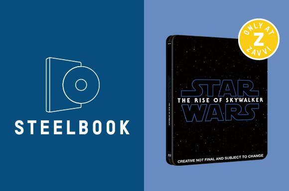 STAR WARS: THE RISE OF SKYWALKER <BR> 3D & 4K STEELBOOKS