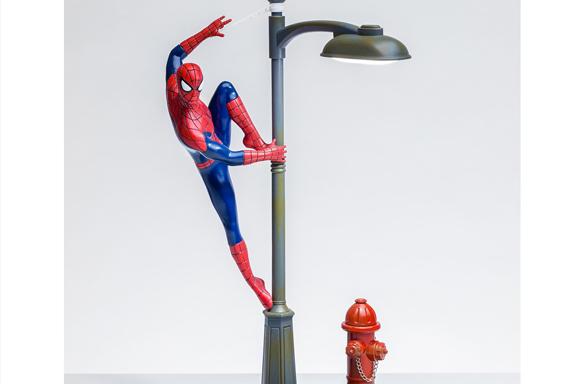 Marvel Spider-Man Lamp Post Desktop Light