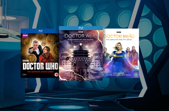 25% Off Selected Doctor Who Blu-Ray And DVDs!