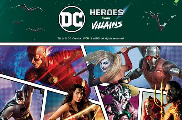 DC COMICS BLU-RAY & DVD MULTI-BUY