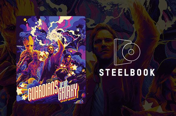 Guardians of the Galaxy - Mondo #40  4K Steelbook
