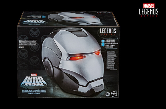 Hasbro Marvel Legends Avengers War Machine Role Play Helmet